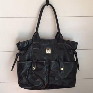 Dooney & Bourke Black Tote Bag